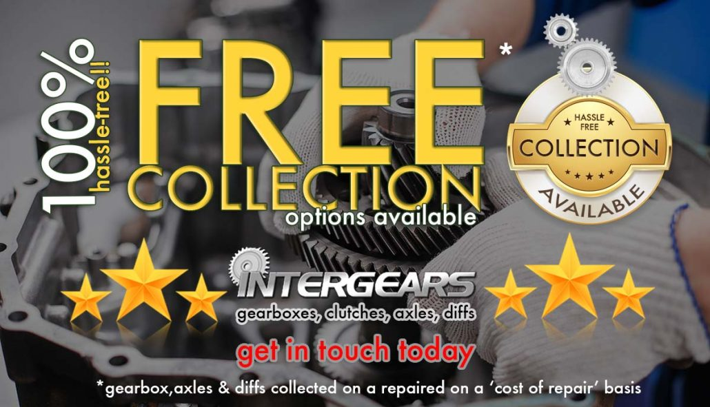 Free collection of gearboxes, axles and diffs for recon