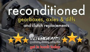 Reconditioned gearboxes, axles and diffs
